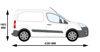 Picture of Rhino KammBar Rear Roller System | Peugeot Partner 2008-2018 | Twin Rear Doors | L1 | H1 | KR2