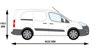 Picture of Rhino KammBar Rear Roller System   Peugeot Partner 2008-2018   Twin Rear Doors   L2   H1   KR10