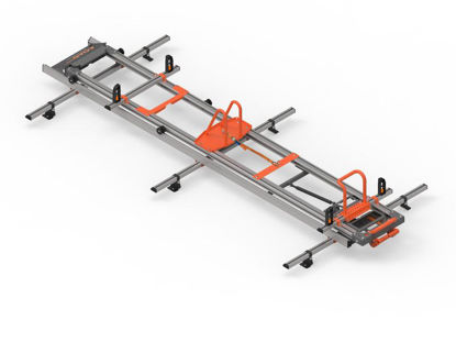 Picture of Hubb LOAD LITE SINGLE version ladder loading system   Fiat Fiorino 2008-Onwards   Twin Rear Doors   L1   H1   HSLLS-25
