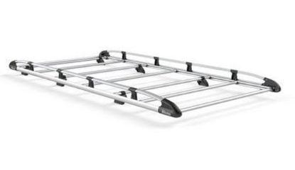 Picture of Rhino Aluminium Rack 3.8m long x 1.8m wide | Citroen Relay 2006-Onwards | Twin Rear Doors | L3 | H2 | AH548