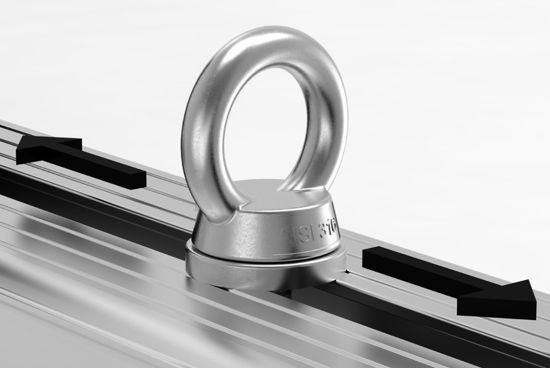 Picture of Van Guard 1x pair of S/Steel Eye Bolts | Roof Bars Accessories | VGEB-1