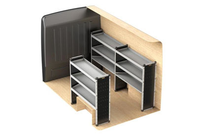 Picture of Van Guard Full Trade Van Racking Kit | Fiat Ducato 2006-Onwards | L2 | H2 | TVR-016-FIADUCL2H2