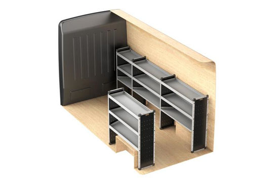 Picture of Van Guard Full Trade Van Racking Kit | Fiat Ducato 2006-Onwards | L3 | H3 | TVR-018-FIADUCL3H3