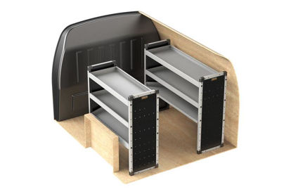 Picture of Van Guard Full Trade Van Racking Kit | Ford Transit Connect 2013-Onwards | L2 | H1 | TVR-020-FORCONL2H1