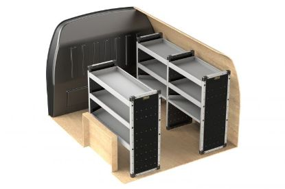 Picture of Van Guard Full Trade Van Racking Kit | Toyota Proace City 2020-Onwards | L2 | H1 | TVR-121-TOYPRO2020L2H1
